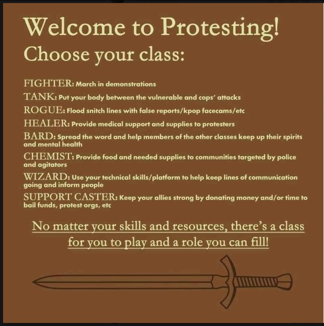 protesting-class