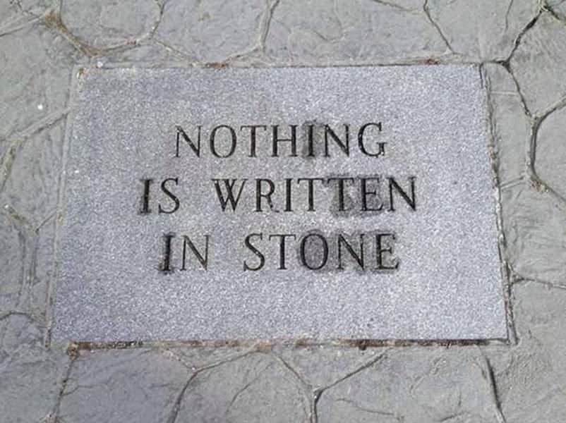written-in-stone