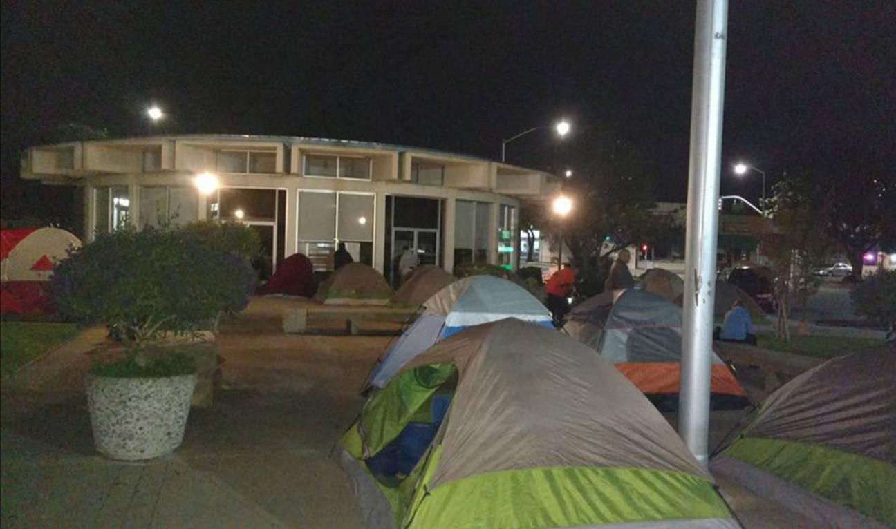 City-Hall-encampment-Ezzard