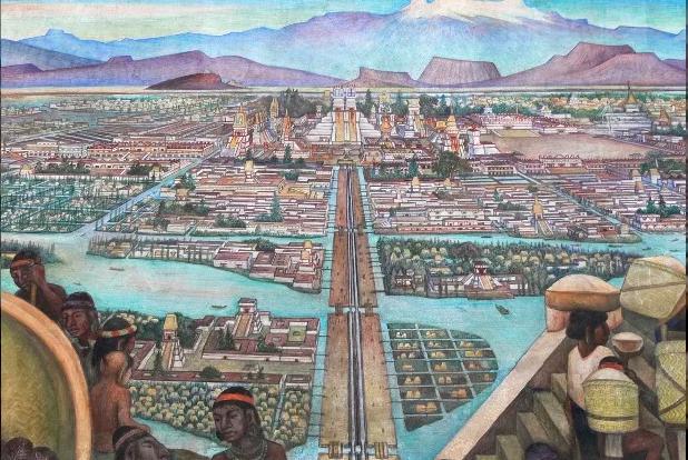 7-Rivera-Tenochtitlan-Detail