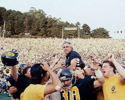 7_Joe_Kapp_was_National_Coach_of_the_Year_after_his_first_season_at_UC_Berkeley_which_culminated_with_a_5-lateral_kickoff_return_to_beat_Stanford_in_The_Big_Game.